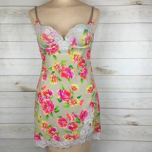 Victoria's Secret Floral Lace Nighty lingerie